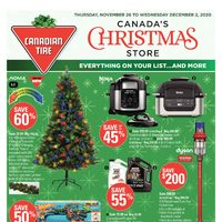 Canadian Tire - 7 Days of Savings - Canada's Christmas Store Flyer