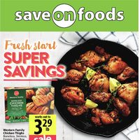 Save On Foods - Weekly Specials - Super Savings Flyer