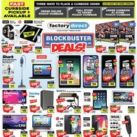 Factory Direct - Blockbuster Deals! Flyer