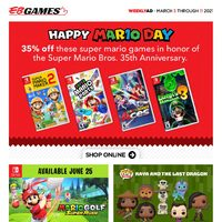 EB Games - Weekly Deals Flyer