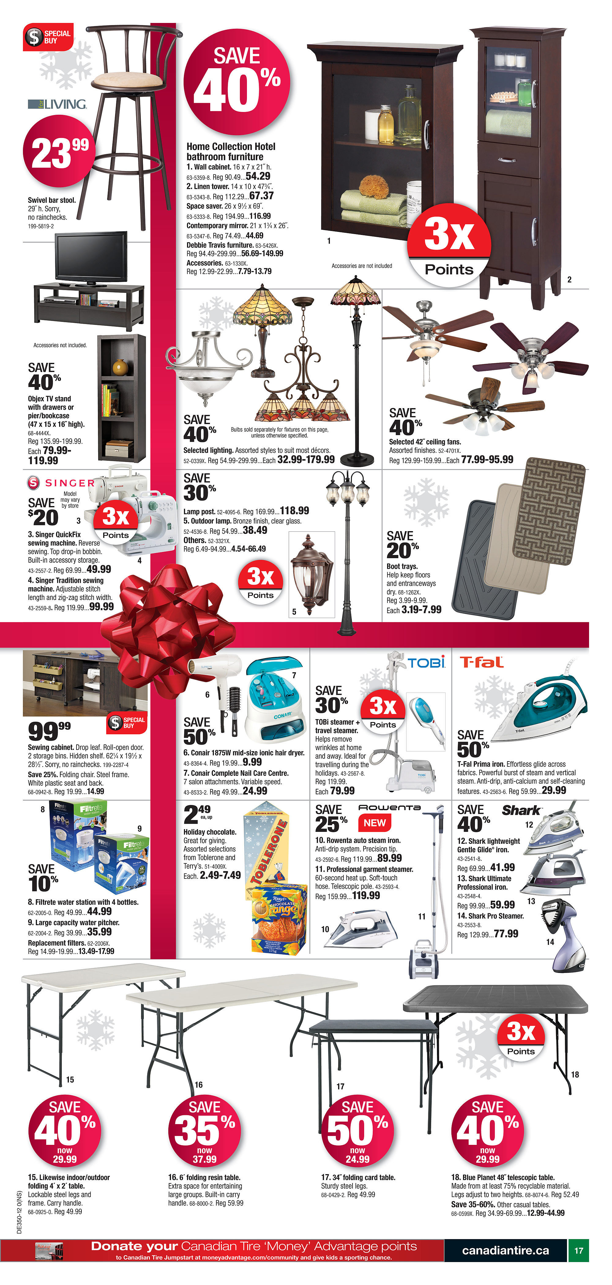 Canadian Tire Weekly Flyer Dec 6 13 Noma Baseboard Heater Wiring
