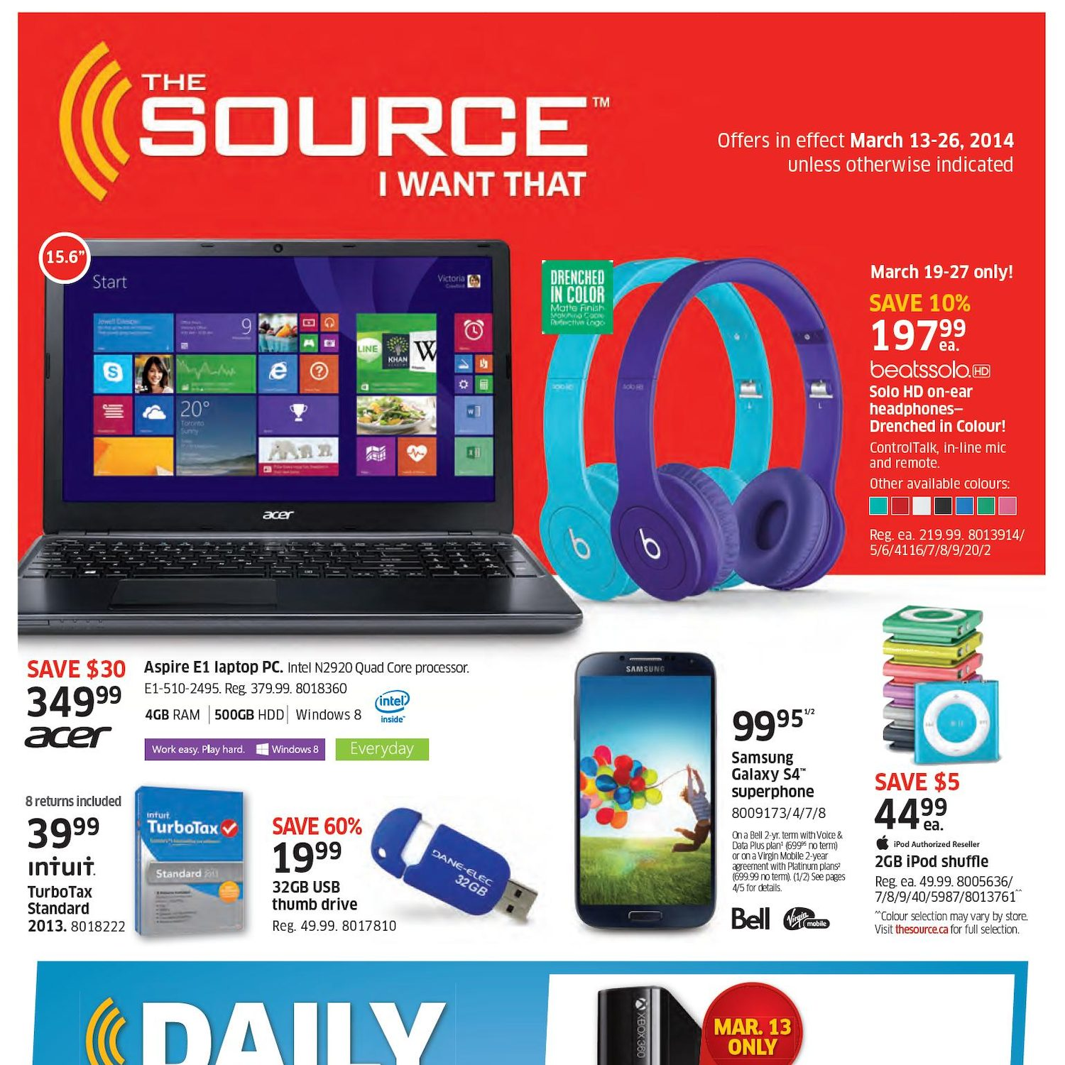 The Source Weekly Flyer - 2-Week Flyer - I Want That - Mar