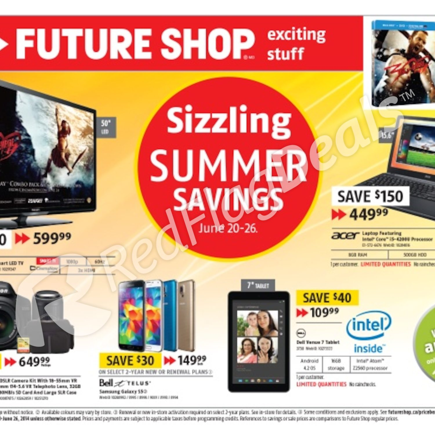Future Shop Weekly Flyer Sizzling Summer Savings Phone Jack Wiring Question For Voip Redflagdealscom Forums Jun 20 26