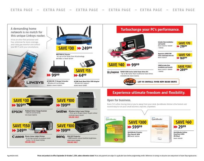 Future Shop Weekly Flyer - Connect To The Entertainment You Love