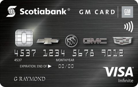 Scotiabank® GM®* VISA* Infinite Card