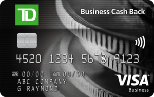 TD Business Cash Back Visa* Card