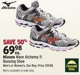 eaecf38461d3 Sport Chek Mizuno Wave Alchemy 11 Running Shoe - $69.98 (50% off) Mizuno  Wave Alchemy 11 Running Shoe - $69.98
