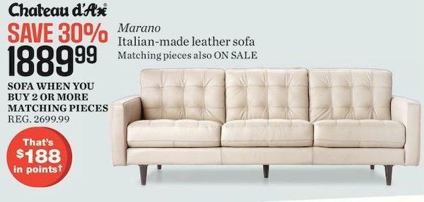 Sears Cau D Ax Marano Italian Made