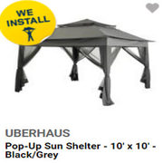 Up to $200.00 Off Select Outdoor Shelters
