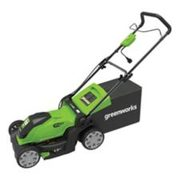 Greenworks 10a Electric Lawn Mower, 17-in - $199.99 ($50.00 Off)