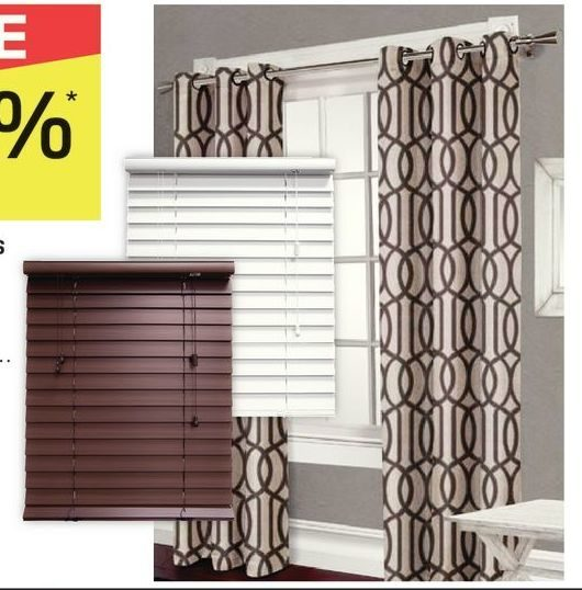 Rona All Curtains and Blinds - 25% off All Curtains and Blinds