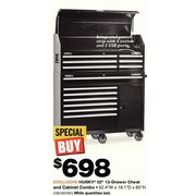 Home Depot: 52 inch 13-Drawer, 1-Door Tool Chest and Cabinet ... on