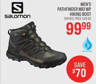 Salomon Men's Pathfinder Mid WP Hiking