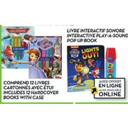 My First Library Or Flash Light Interactive Books - $14.00