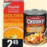 Campbell's Chunky, Everyday Gourmet or Healthy Request Soup - $2.49
