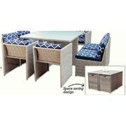 Hampton Bay Capri Dining Set   $598.00