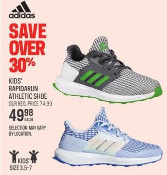 Sport Chek Adidas Kids  Rapidarun Athletic Shoe -  49.98 (30% off) Adidas  Kids  Rapidarun Athletic Shoe a2ded290e