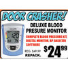 Deluxe Blood Pressure Monitor - $24.99