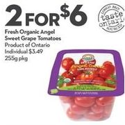 Fresh Organic Angel Sweet Grape Tomatoes - 2/$6.00