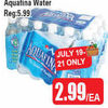 Aquafina Water - $2.99