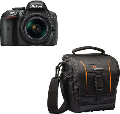Best Buy: Nikon D5300 DSLR Camera with 18-55mm VR Lens