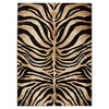 Home Dynamix Tribeca Tiger Stripe Area Rug In Dark Brown/beige - $29.39 - $138.59