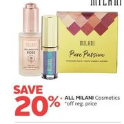Al Milani Cosmetics - 20% off