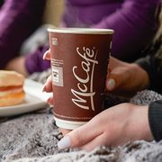 McDonald's National Coffee Day: Get a FREE McCafé Premium Roast Coffee with Any Mobile Order on September 29