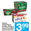 Danone Activia Yogurt Or Danino Go - $3.99