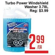 Turbo Power Windshield Washer - $2.99