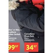 Ladies' Or Men's Canadiana Bomber Jacket  - $99.97