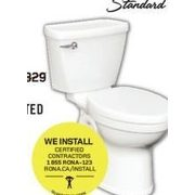American Standard Champion 2-Piece Elongated Toilet - $229.00 ($100.00 off)